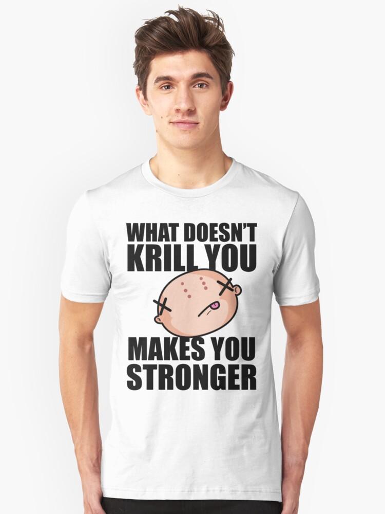 Krillin Unisex T-Shirt Front