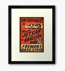 Jet Car Framed Print