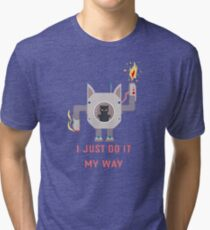 I Just Do It My Way Motivation Tri-blend T-Shirt