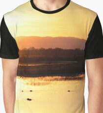 Sunset at the Bird Sanctuary II Graphic T-Shirt