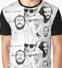 BON IVER Graphic T-Shirt