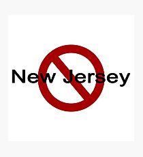 New Jersey - How I met your mother Photographic Print