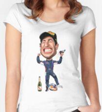 Daniel Ricciardo 2017 Women's Fitted Scoop T-Shirt