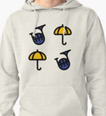 Blue French Horn/Yellow Umbrella - How I met your mother Pullover Hoodie