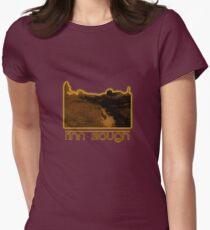 Sunset at Finn Slough  Womens Fitted T-Shirt