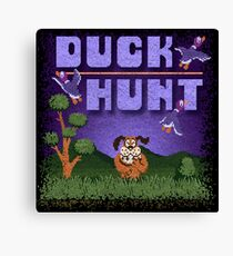 Hunt Duck Canvas Print