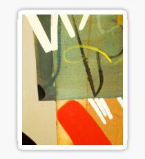 Abstract Closeup #1 Sticker