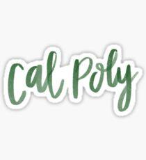 Cal Poly Sticker