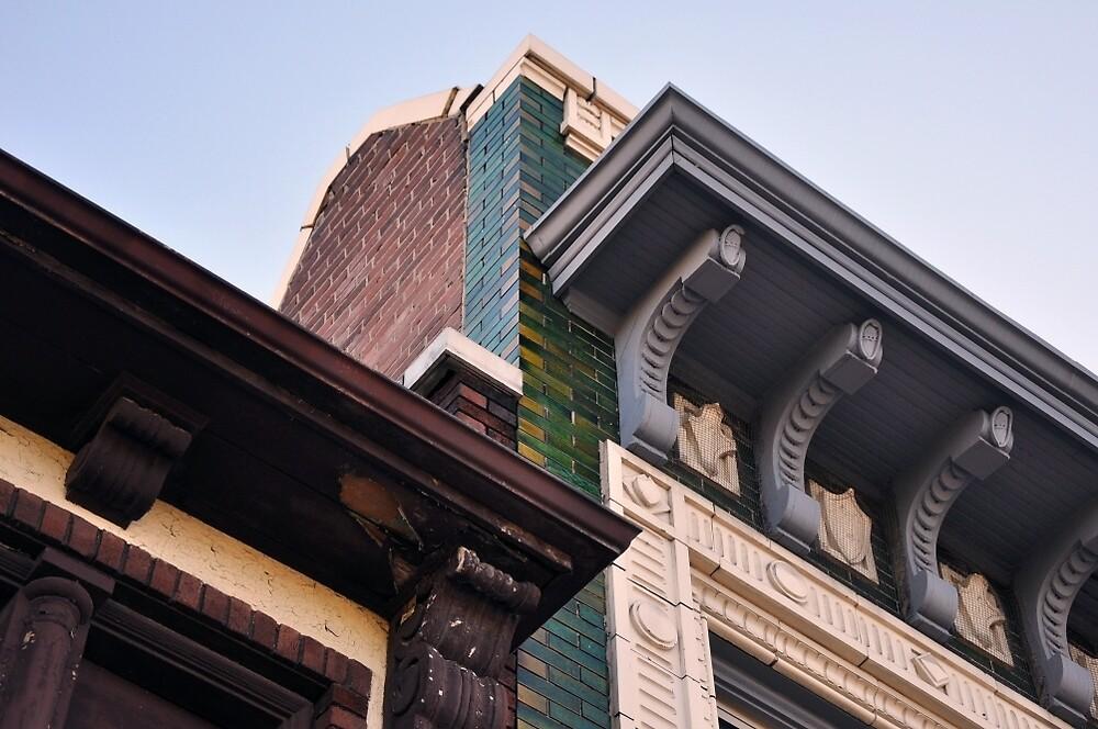 Midtown Bricks by rebeccaeilering
