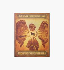 BioShock Infinite – The Tower Protects the Lamb from the False Shepherd Poster Art Board