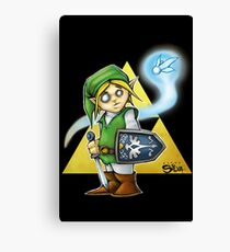 Its Dangerous To Go Alone! Canvas Print