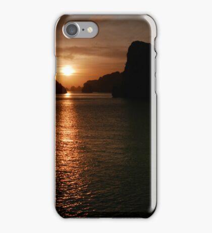 Ha Long Bay Sunset. iPhone Case/Skin