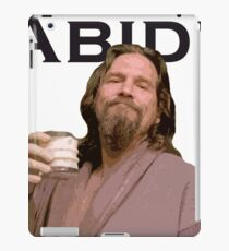 The Dude Shirt iPad Case/Skin