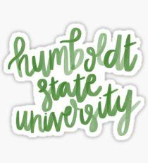 Humboldt State University Sticker