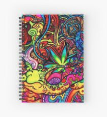 trippy  Spiral Notebook