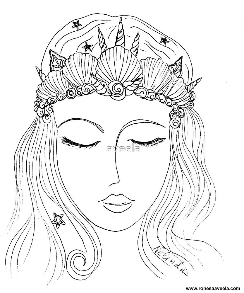 Mermaid Crown (#Mermaid) by aveela