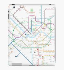Seoul metro map iPad Case/Skin