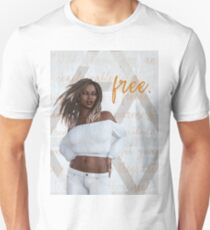 Carefree She (Rectangle Design) T-Shirt