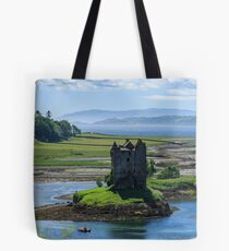 Castle Stalker, Loch Laich, Scotland Tote Bag