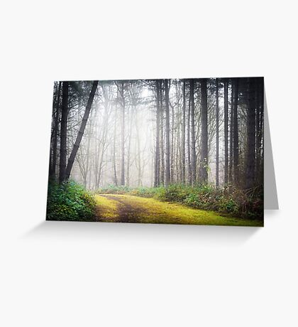 Mysterious Path Greeting Card