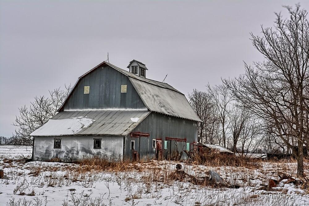 Winter On The Farm 2 by Duane Sr