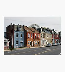 Broadway Streetscape Photographic Print
