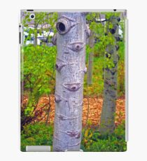 Looking through a Tree in Seattle iPad Case/Skin