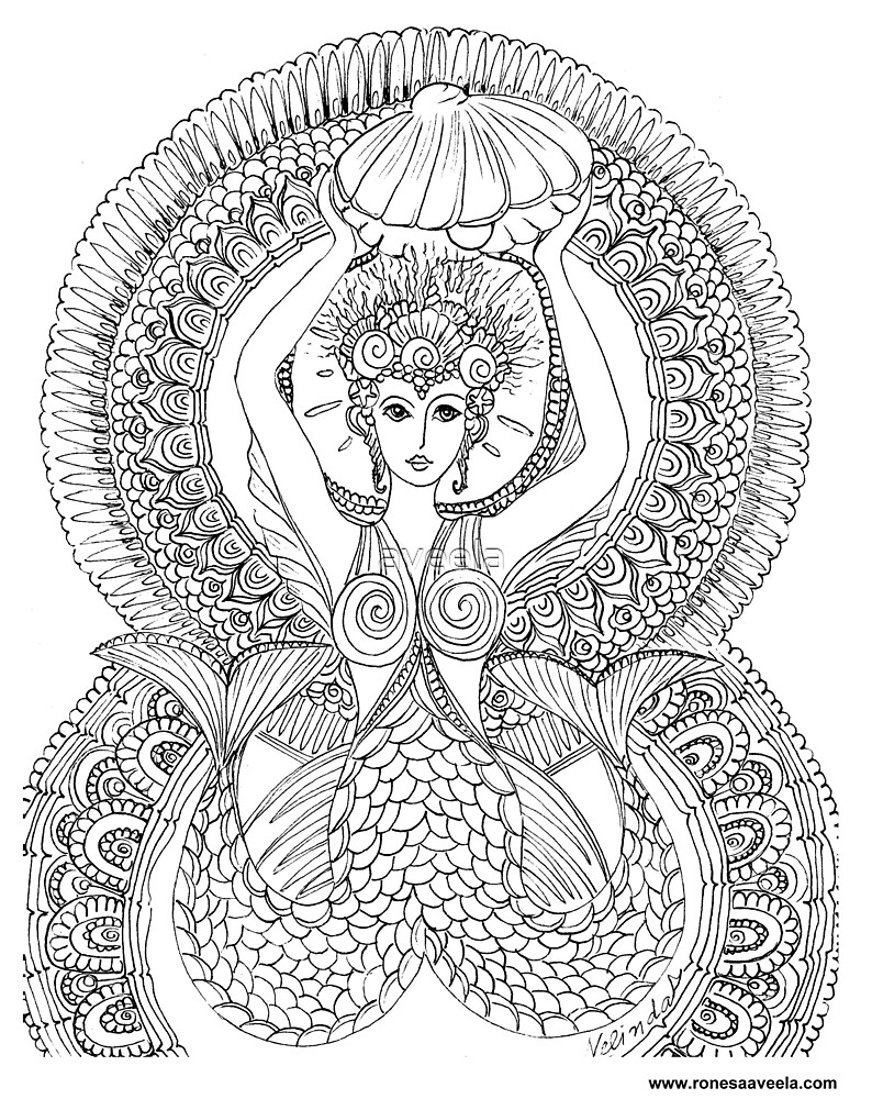 Atargatis – Assyria  The Odest #Mermaid  by aveela