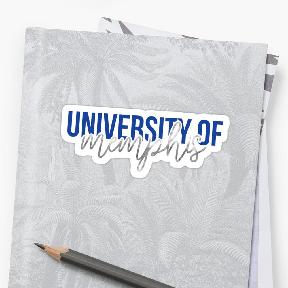 University of Memphis - Style 13 by kayceecolleges