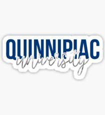 Quinnipiac University - Style 13 Sticker