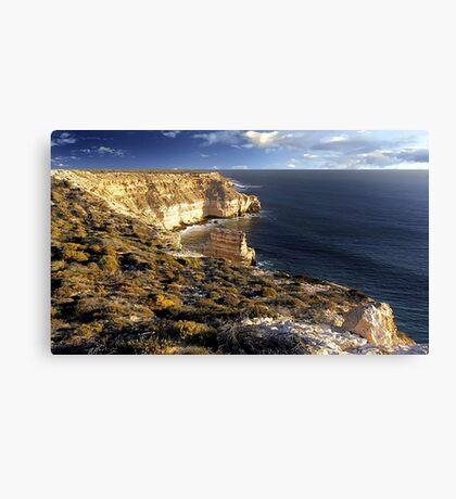 Kalbarri Coastal Cliffs At Sunset Canvas Print