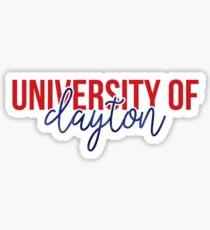 University of Dayton - Style 13 Sticker