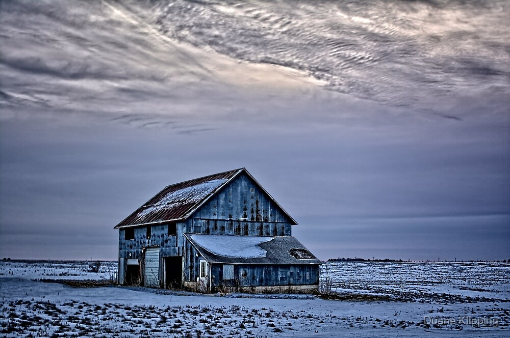 Winter On The Farm 3 by Duane Klipping