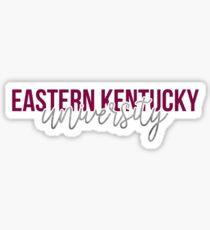 Eastern Kentucky University - Style 13 Sticker