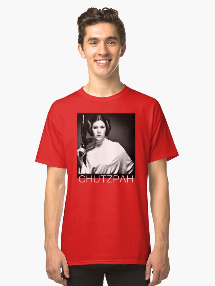 Girl Power Chutzpah 1 Classic T-Shirt Front