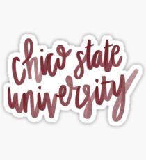 Chico State University  Sticker