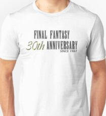Final Fantasy 30th Anniversary  Unisex T-Shirt