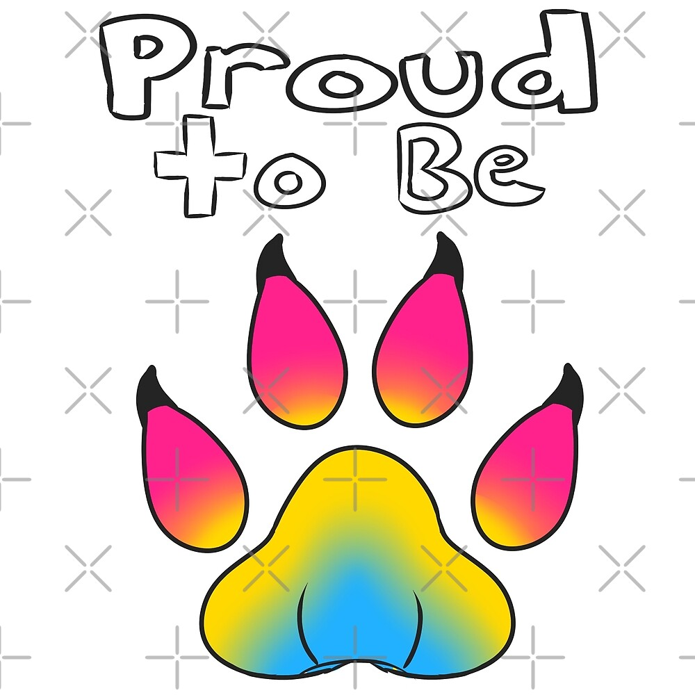 Proud to be Pansexual Furry by Catdragon7
