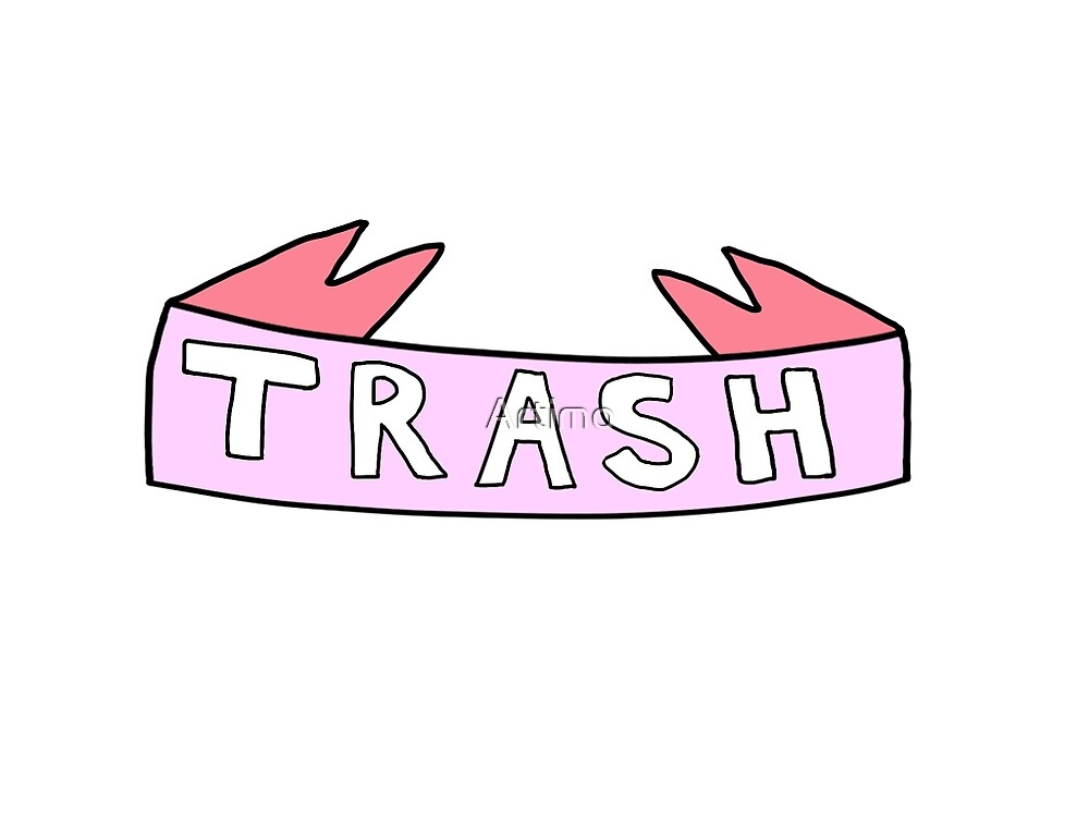 Trash banner by Artimo