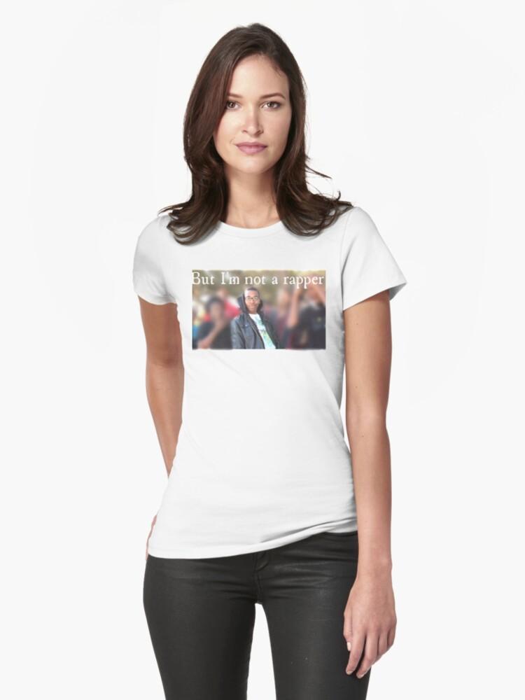 rap battle Womens T-Shirt Front