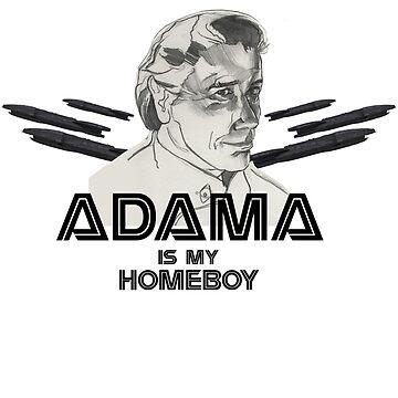 Adama is my homeboy by klarapie