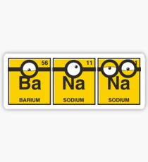 Elements of Minion Sticker