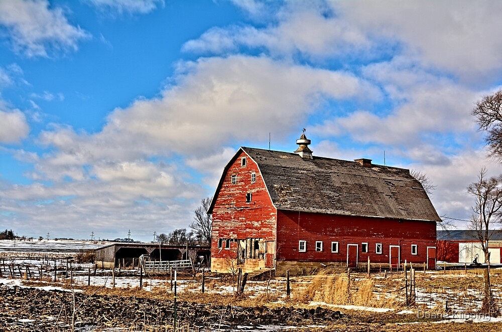 Marsh Avenue Barn by Duane Klipping