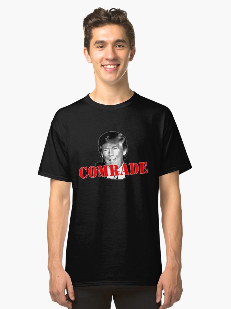 COMRADE Donald Trump Classic T-Shirt Front