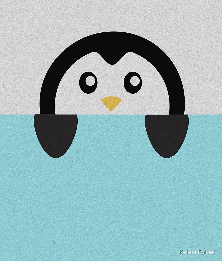 Penguin by Keisha Foldesi