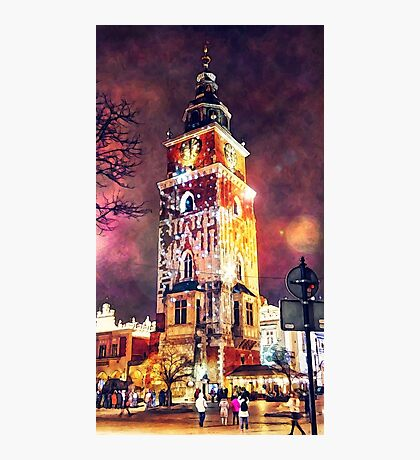 Cracow Town Hall Tower Photographic Print