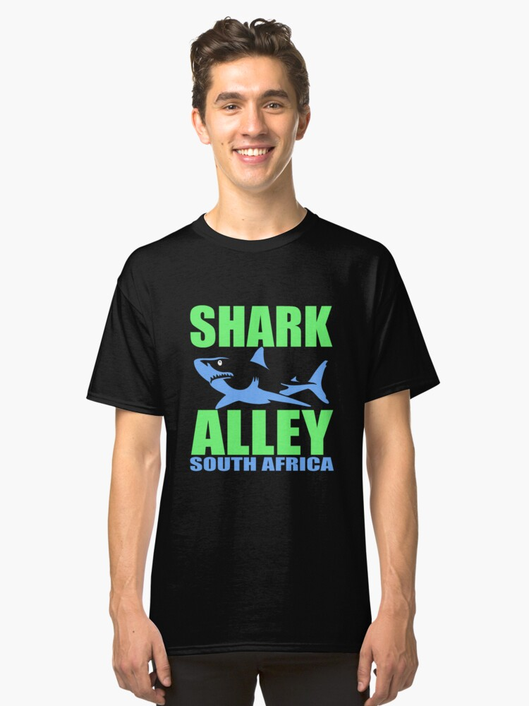 SHARK ALLEY Classic T-Shirt Front