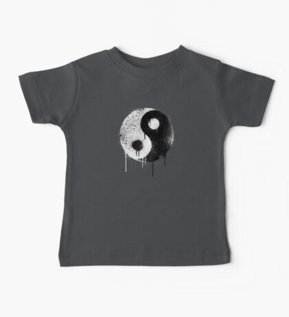 Yin Yang Spray Painted Kids Clothes