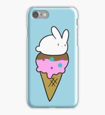 Bunny Icecream Cone iPhone Case/Skin