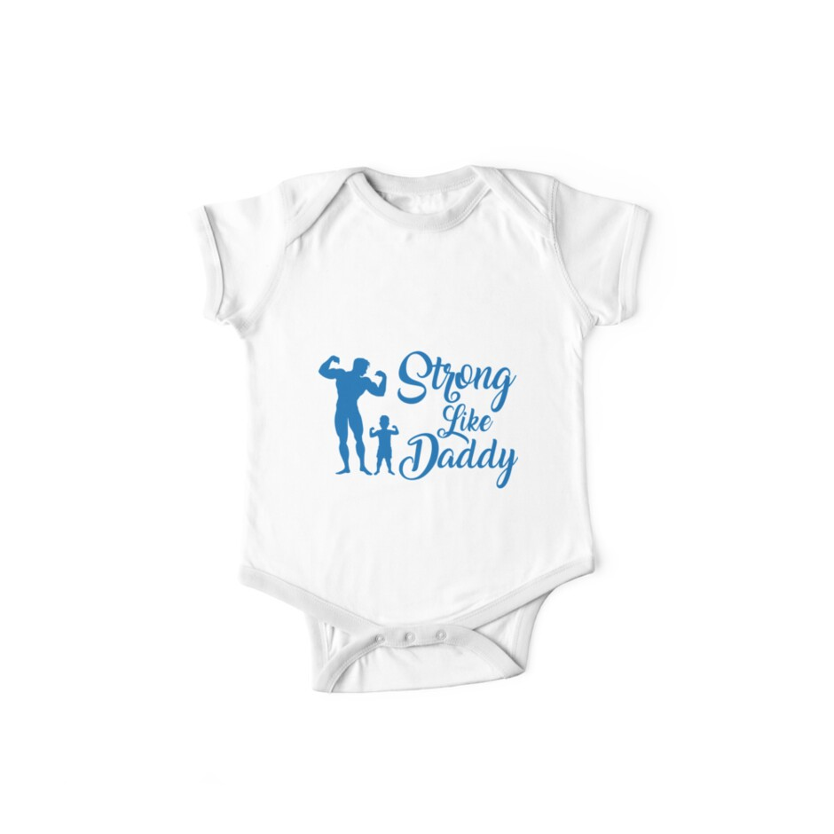 Strong Like Daddy by smallowlstudio